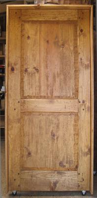 Interior Doors   Two Panel Pine Door
