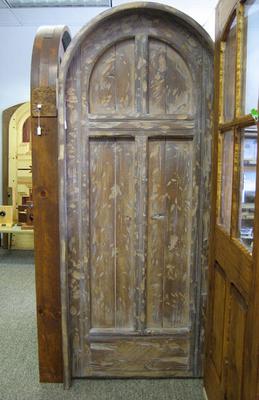 Nice Interior Doors   SOLD Garcia Round Top Cross Door